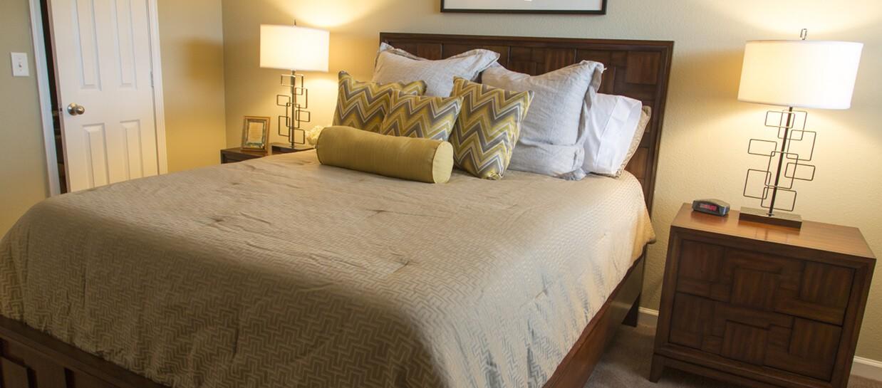 Bay Breeze Apartments bedroom