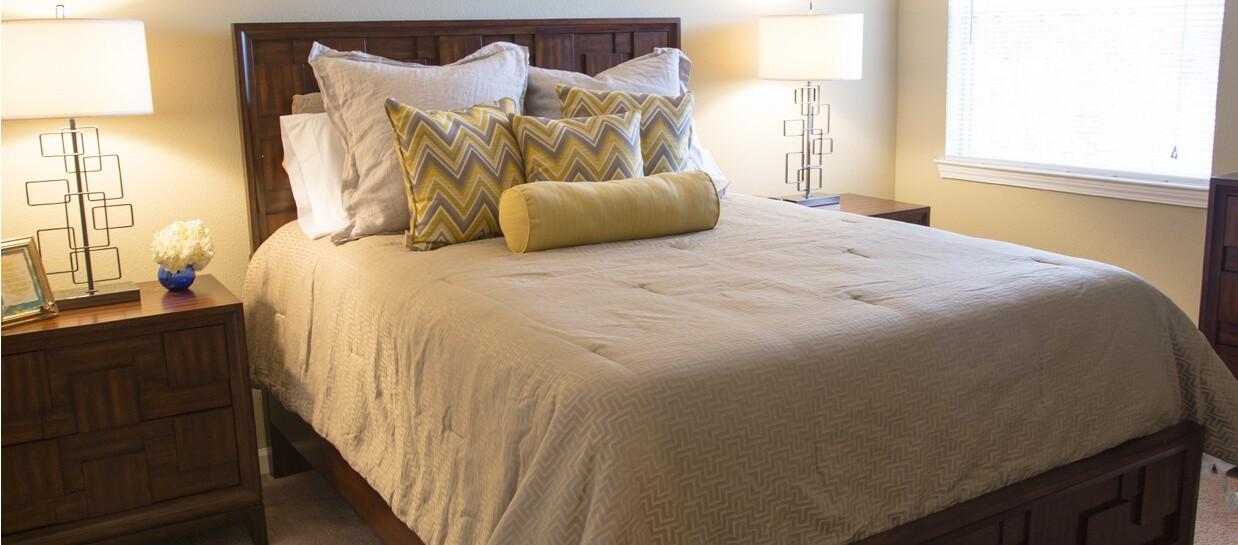 Bay Breeze furnished bedroom